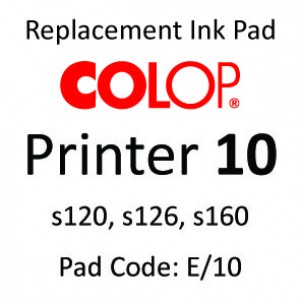 Colop 10 Ink Pad ↓