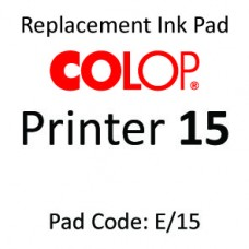 Colop 15 Ink Pad ↓