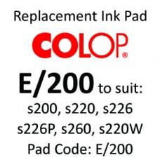 Colop E/200 Ink Pad ↓