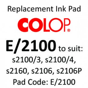 Colop E/2100 Ink Pad ↓