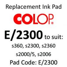 Colop E/2300 Ink Pad ↓