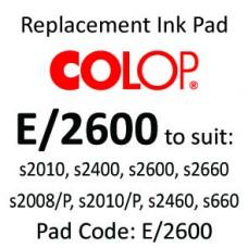 Colop E/2600 Ink Pad ↓