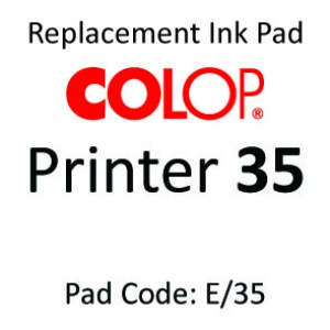 Colop 35 Ink Pad ↓