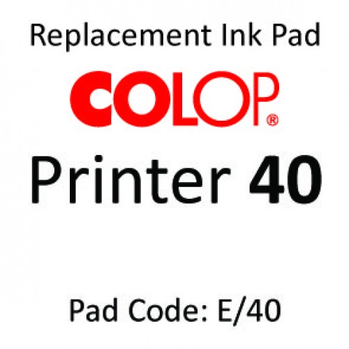 Colop 40 Ink Pad ↓
