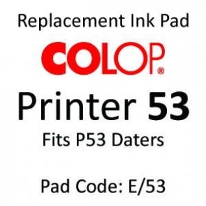 Colop 53 Ink Pad ↓