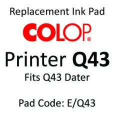 Colop Q43 Ink Pad ↓
