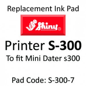 Shiny S-300 Ink Pad ↓