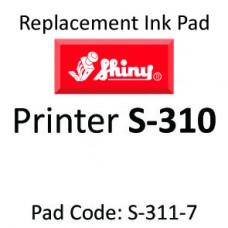Shiny 310 Ink Pad ↓