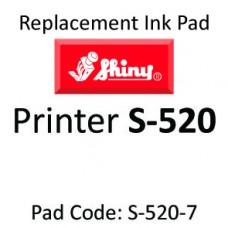 Shiny 520 Ink Pad ↓
