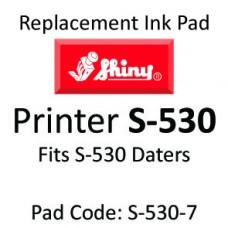 Shiny 530 Ink Pad ↓