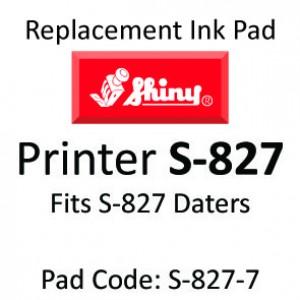 Shiny 827 Ink Pad ↓