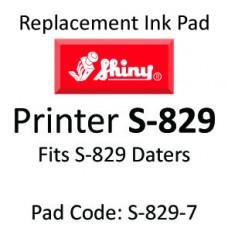 Shiny 829 Ink Pad ↓