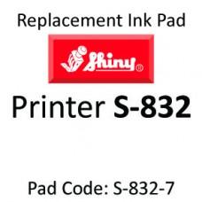 Shiny 832 Ink Pad ↓