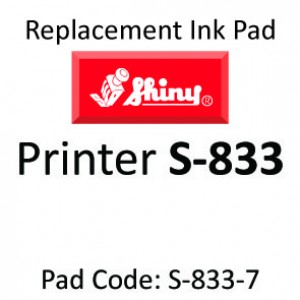 Shiny 833 Ink Pad ↓