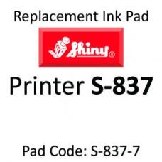 Shiny 837 Ink Pad ↓