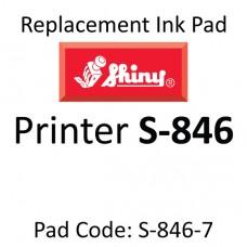 Shiny 846 Ink Pad ↓