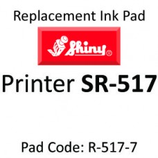Shiny R-517 Ink Pad ↓