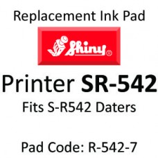 Shiny R-542 Ink Pad ↓